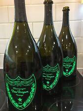 More details for 3x dom perignon magnum luminous 1500ml empty bottles