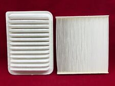 New Cabin and Engine Air Filter Set For Toyota Part #: 87139-YZZ08 17801-0T030