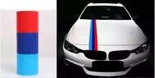 "59"" BMW Car M-Colored Stripe Hood Vinyl Sticker Decal Sun Visor Racing Strip"