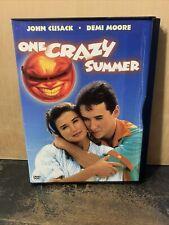 One Crazy Summer (DVD, 2003) John Cusack, Demi Moore 1986 Snap Case