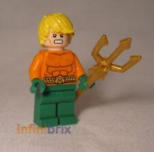Lego Aquaman from Set 76000 Arctic Batman Super Hereos Figurine Neuf sh050