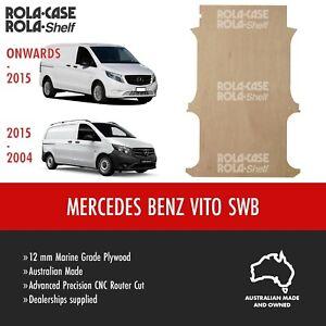 Mercedes Benz Vito SWB-  Genuine Van Cargo Flooring 12mm Marine Grade Plywood