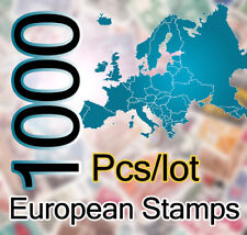 1000 Pcs/lot Postage Oropean Stamps Good Condition Stamps For Collecting