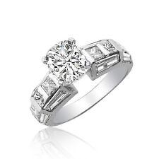 GIA Certified Platinum Cushion Cut Diamond Engagement Ring 2.50 Carat