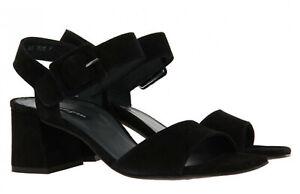 NWOT Paul Green Suede Block Heel Sandals
