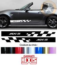 2 X BANDES PORTES DECO POUR MAZDA MIATA MX5 SPORT AUTO VOITURE STICKER BD515-20