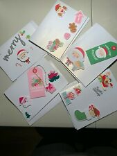 Handmade Cute Christmas Cards - 5 different cards