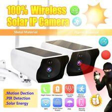 Outdoor Wireless Solar IP Camera Wifi 1080P HD Security Night Vision Waterproof