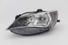 Seat Ibiza 12-15 Grey Headlight Headlamp Left Passenger Near Side N/S OEM Valeo
