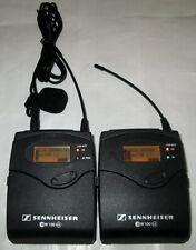 SENNHEISER SK100 G3, EK100 G3 B Band Lav Mic Wireless Transmitter & Receiver
