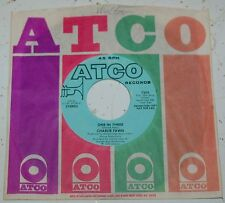 Charlie Fawn 45 One In Three  PROMO ATCO #7202