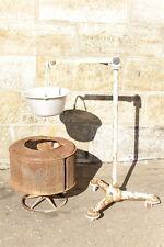 Waschmaschinentrommel Feuerstelle Feuerkorb Grill mit Ständer