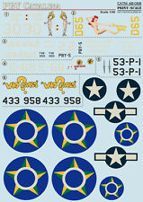 DECAL FOR PBY-5 CATALINA 1/48 PRINT SCALE 48-068