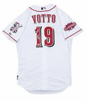 2015 Joey Votto Game Used & Signed Cincinnati Reds Home Jersey Used on 8/22/2015