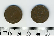 Canada 1920 - 1 Cent Bronze Coin - King George V