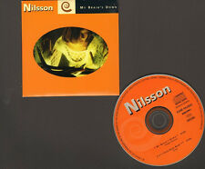NILSSON My Brain's Down 2 track CDSingle NEW It's Your Head Now LIVE