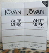 JOVAN WHITE MUSK 3.0 OZ / 88 ML COLOGNE SPRAY NEW IN BOX FOR MEN