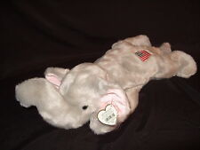 TY BEANIE BUDDY RIGHTY THE ELEPHANT - RETIRED WITH TAG
