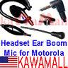 Headset Ear Boom Mic PTT for Motorola Talkabout Radio
