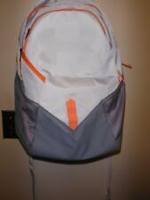 UA Under Armour Storm Water Resistant Backpack *New/Dust* Gray/White