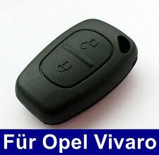2Tasten Schlüssel Fernbedienung Gehäuse für Opel Vivaro