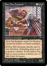 SUQ'ATA ASSASSIN Visions MTG Black Creature — Human Assassin Unc