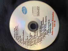 Custom Karaoke John Denver Rare Songs cdg Cd+G Hard To Find 20 Songs Feather Bed