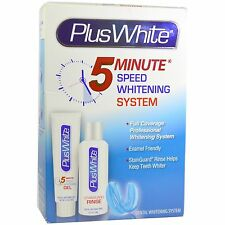 Plus White 5 Minute Premier Teeth Whitening Speed Gel System / Free Shipping