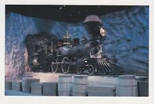 The Gov Stanford Central Pacific No.1 locomotive CA state RR Museum postcard
