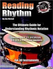 Drum Instruction Reading Rhythm Book 2 by Jim McCall book
