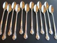 """PRICE PER 1 SPOON* CHANTILLY STERLING  FLATWARE ICE TEASPOONS-7 5/8""""OLD M*LOTB"""
