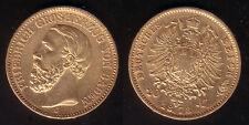 20 Mark Gold Baden Friedrich I. 1873