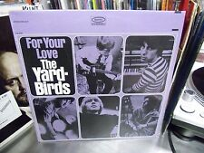 YARDBIRDS For The Love vinyl LP Epic Records Sealed stereo [Jeff Beck]