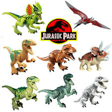 New 8 Sets Jurassic World Dinosaurs Mini Figures Building Toys Fit Lego GIFT