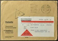 Germania 1969 nachnahme Remboursement, contanti alla consegna Copertura #C55935