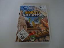 WII Spiel SimCity Creator