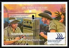 SOLOMON MNH 2005 MS1124 60th Anniversary of the End of World War II