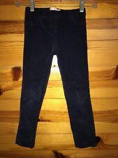 Mini Boden Navy Corduroy Pants Girls EUC Pull-On Size 7Y