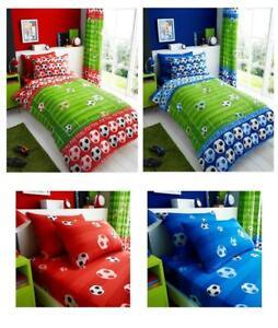 Football bedding single duvet quilt cover / sheet set / curtains *buy separately