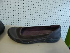 Womens Clarks Privo leather shoes - size 9 - brown - # 60645