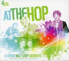 At The Hop & Other Malt Shop Favorites (CD, 2009, 4-disc Madacy Entertainment)