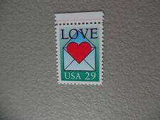 United States Stamp-2618-red line-mnh/og
