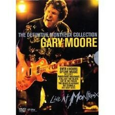 """GARY MOORE """"THE DEFINITIVE MONTREUX COLL."""" 2 DVD NEW+"""