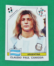 N°129 CANIGGIA ARGENTINA PANINI COUPE MONDE FOOTBALL ITALIA 90 1990 WC WM