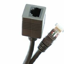 1m ETHERNET RJ45 EXTENSION CABLE NETWORK PATCH LAN LEAD EXTENDER CAT 5 CAT5E