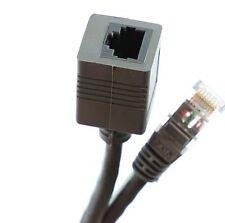 1m ETHERNET RJ45 EXTENSION CABLE NETWORK PATCH LAN LEAD EXTENDER CAT 5 CAT5E