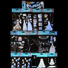 Jolees Stickers LOT Wedding Doves Gowns Tux Church Cake Bachelorette 15 PACKS