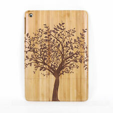 Genuine Big Tree Wood Bamboo Hard Case Back Cover for Apple iPad Air 2