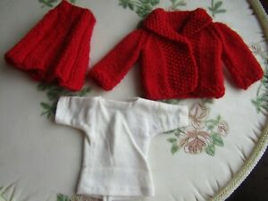 """Vintage 2pc Knit Suit and polo shirt for 11.5"""" Fashion Dolls"""