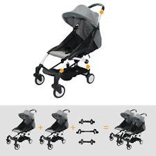 3Pcs Adjustable Twins Stroller Accessories Connector Babies Pushchair Linker